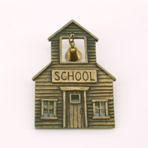 PIN with marked with JJ.  School Pin with Bell